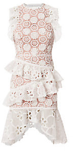 Arleigh Lace Tiered Dress