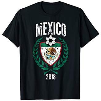 Mexico Soccer Jersey Shirt Vintage/Distressed Football Gift