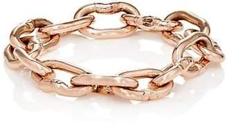 Dean Harris Men's Heavy Chain Ring - Gold