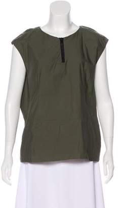 Marni V-Neck Sleeveless Top