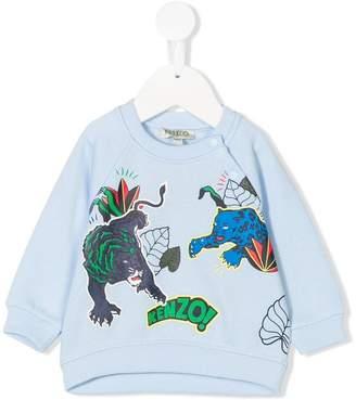 Kenzo animals print sweatshirt