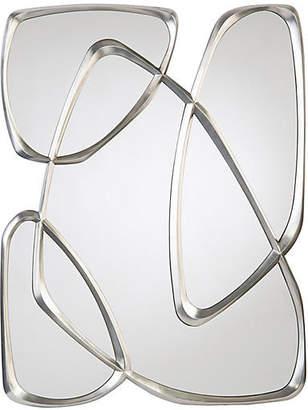 John-Richard Collection Zeta Oversize Wall Mirror - Pewter