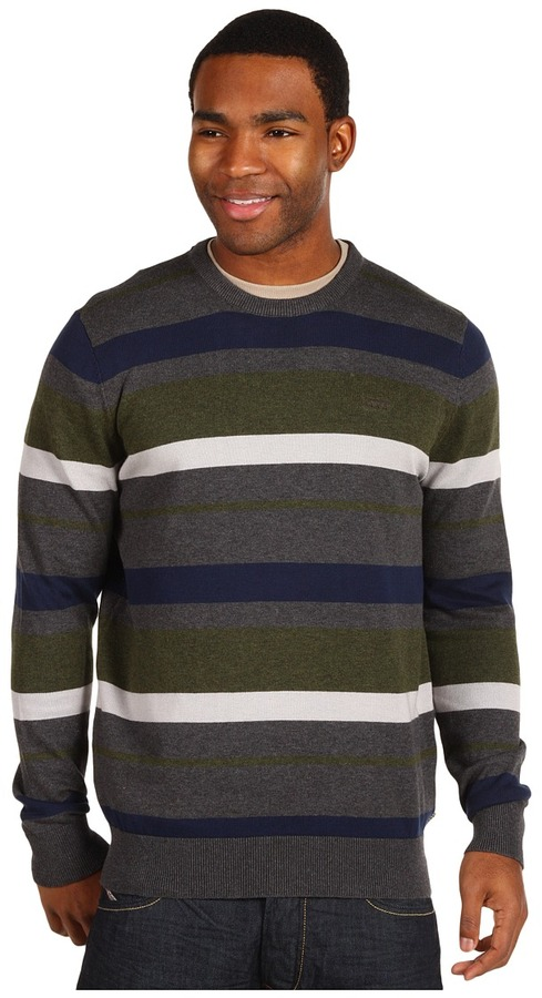 Vans Gaines Sweater (Cement Heather) - Apparel