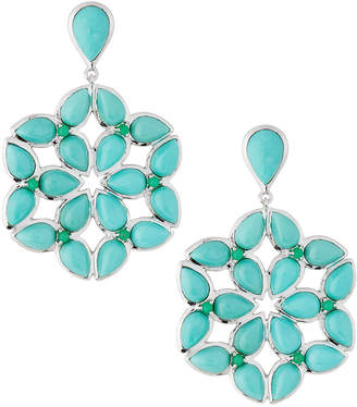 Elizabeth Showers Kaleidoscope Earrings, Blue/Green
