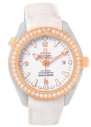 Omega Seamaster Planet Ocean 222.28.42.20.04.001 Stainless Steel & 18K Rose Gold 42mm Womens Watch