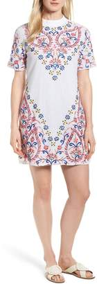 Kas Fleur Embroidered Cotton Minidress