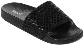 Pool' MIXIT Mixit Sparkle Pool Womens Slide Sandals