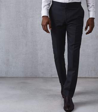 Reiss Maruso Wool Slim Fit Trousers