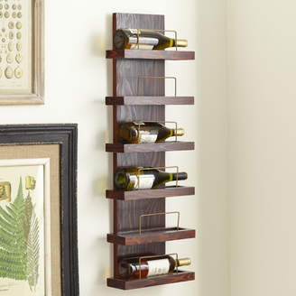 Birch Lane Cooperstown 6 Bottle Wall Mounted Wine Rack