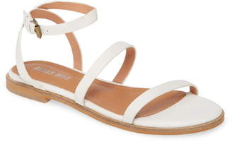 Mae Alias Theta Ankle Strap Flat Sandal
