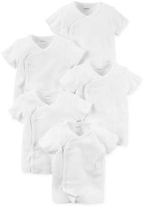 Carter's Baby Boys' or Baby Girls' 5-Pack Kimono Shirts