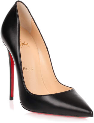 Christian Louboutin So Kate 120 black nappa leather pump