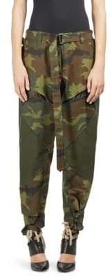 Sacai Belted Camo Military Pants