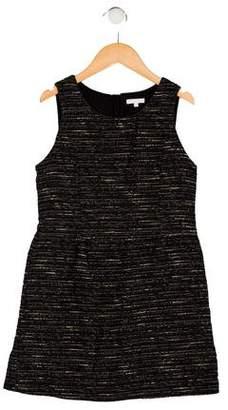 Chloé Girls' Sleeveless Tweed Dress
