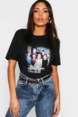 boohoo Buffy Licensed T-Shirt