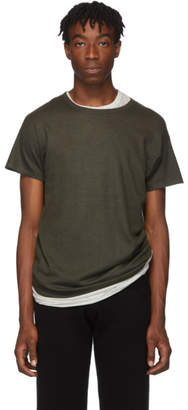 Frenckenberger Green Cashmere T-Shirt