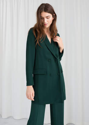 And other stories Double Breasted Blazer Dress