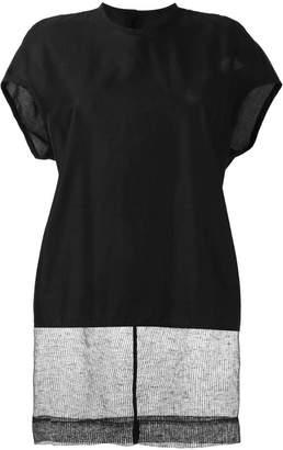 Rick Owens sheer tail blouse
