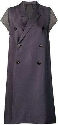 Rick Owens oversized trench coat