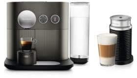 Nespresso Expert Coffee Machine with Aeroccino by De Longhi EN350GAECA