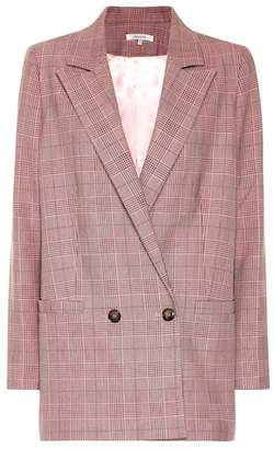 Ganni Checked blazer