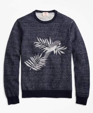 Brooks Brothers Parrot Crewneck Sweater