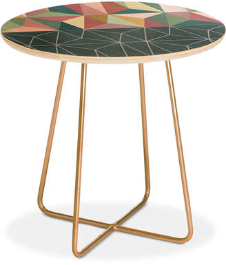 Deny Designs Mareike Boehmer Nordic Combination 31 E Round Side Table