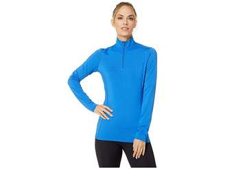 Hot Chillys Micro Elite Chamois Solid Zip-Tee