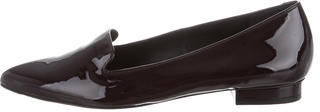 Paul Smith Patent Leather Pointed-Toe Flats $95 thestylecure.com