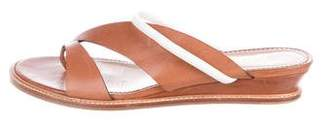 Aperlaï Leather Thong Sandals