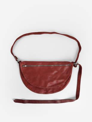 Guidi WOMEN'S RED SHOULDER BAG