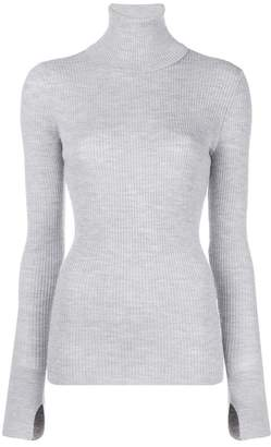 Barbara Bui turtleneck ribbed jumper