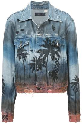 Amiri Palm Trucker jacket
