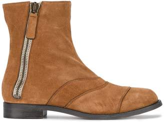 Chloé Brown Lexie Suede ankle boots