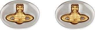 Vivienne Westwood Embossed logo stud earrings