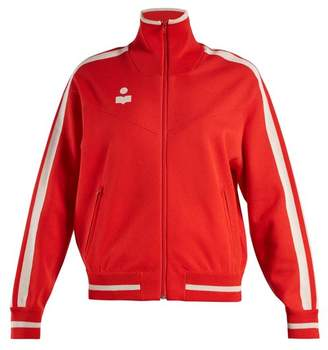Isabel Marant étoile - Darcy High Neck Zip Through Track Top - Womens - Red