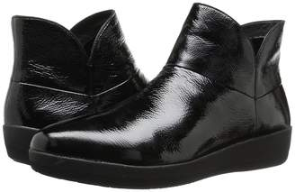 FitFlop Supermod Leather Ankle Boot Women's Boots