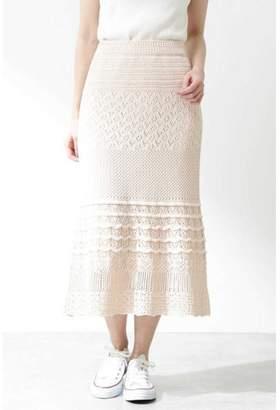 BODY DRESSING (ボディ ドレッシング) - プロポーション ボディドレッシング |CanCam 5月号掲載|《EDIT COLOGNE》クロシェスカート
