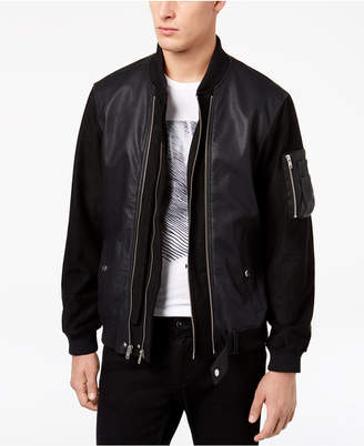 Members Only Men's 2 in 1 Uptown Bomber Jacket