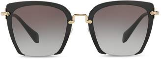 Miu Miu Women's Oversized Square Sunglasses, 54mm
