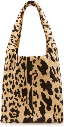 Hayward Grand Shopper Medium Leopard Brocade Bag