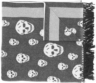 Alexander McQueen Skull shawl