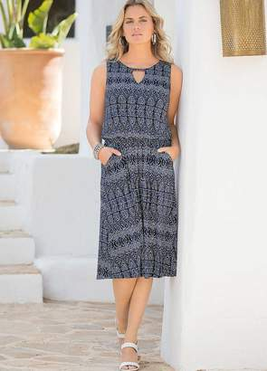Together Jersey Printed Dress