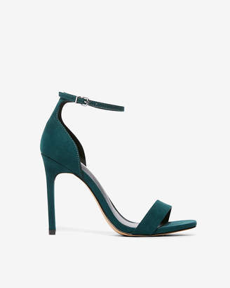 Express Heeled Square Toe Sandals