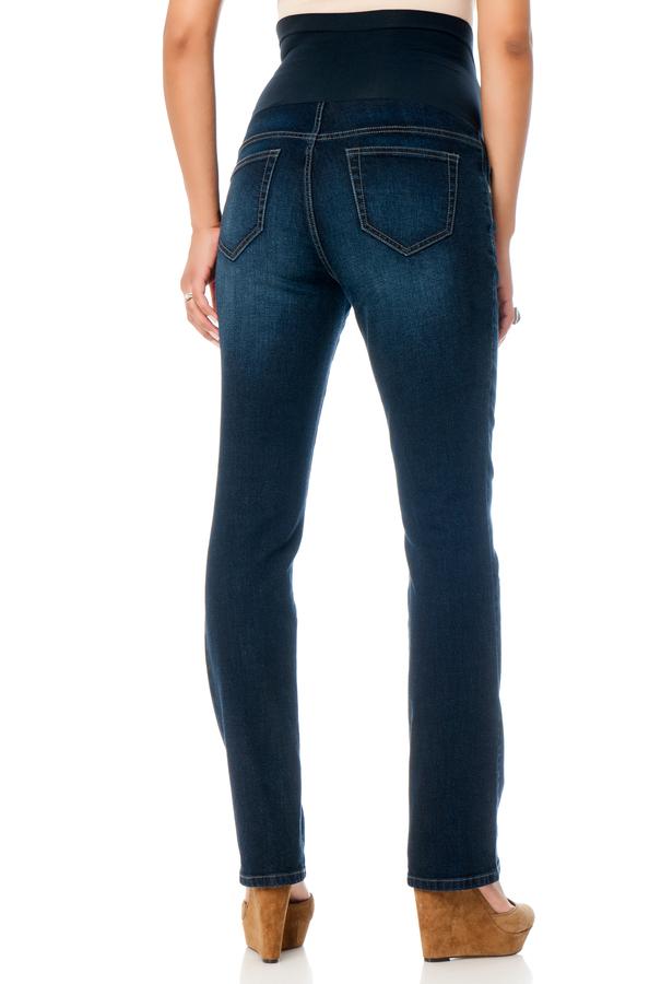 Motherhood Indigo Blue Secret Fit Belly® Super Stretch Straight Leg Maternity Jeans