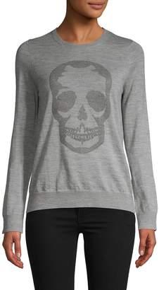 Zadig & Voltaire Miss Skull Merino Wool Sweater