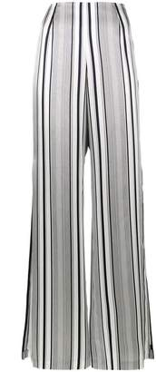 Jonathan Simkhai striped flared trousers