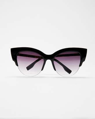 Express Extreme Cat Eye Sunglasses