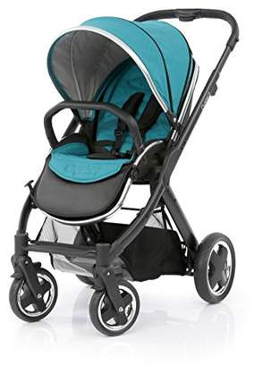 babystyle Oyster 2 Black Chassis (Black Handle) - Deep Topaz