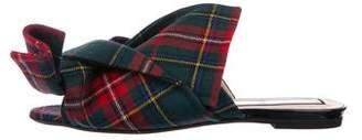 No.21 No. 21 Tweed Knot Slide Sandals